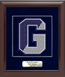Framed Varsity Letter Awards