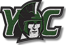 Chenille YC with Spartan mascot patch